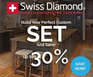 Swiss Diamond Custom Sets Up to 30% OFF